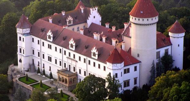 Замок Конопиште (Konopiště)
