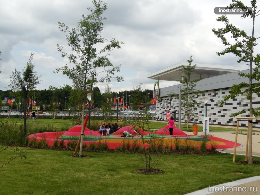 детская площадка в Праге