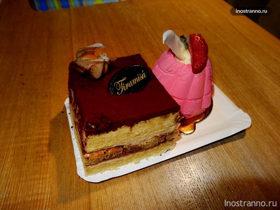 торт на вынос в праге