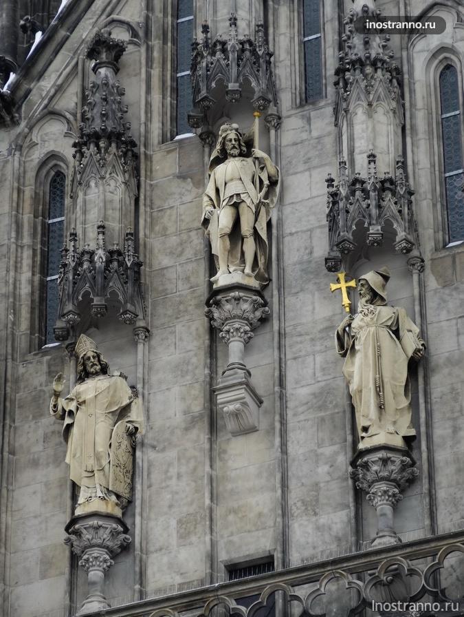 фасад собора святого вацлава