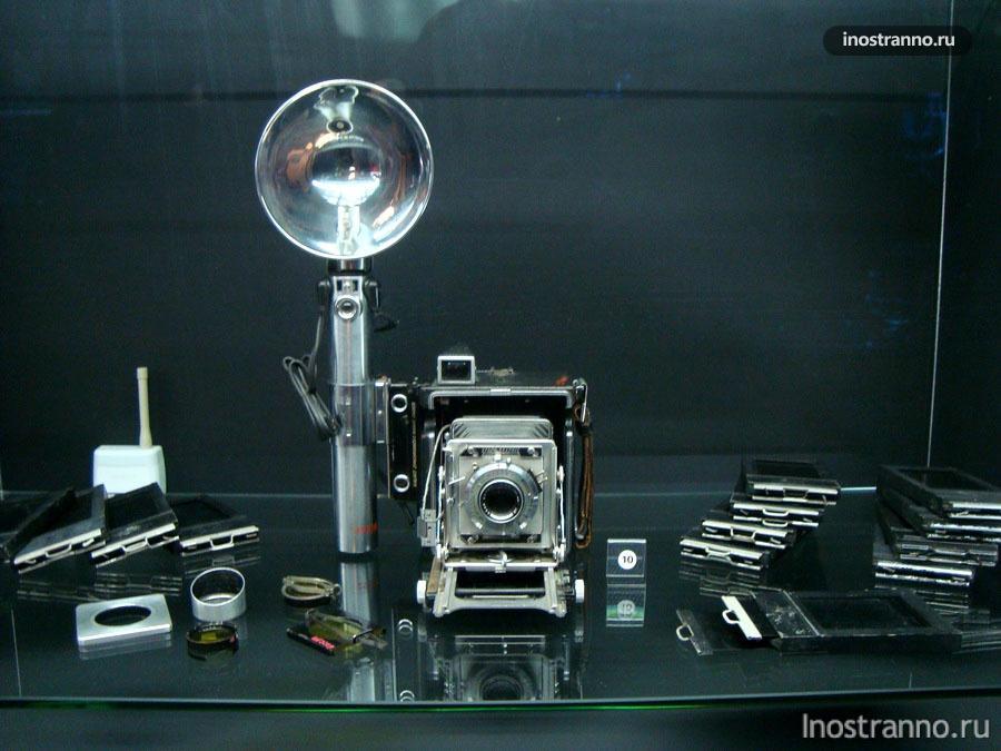 Фотоаппарат в техническом музее