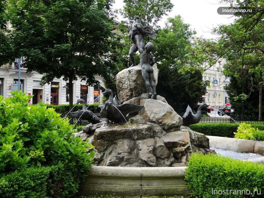 фонтан в Братиславе