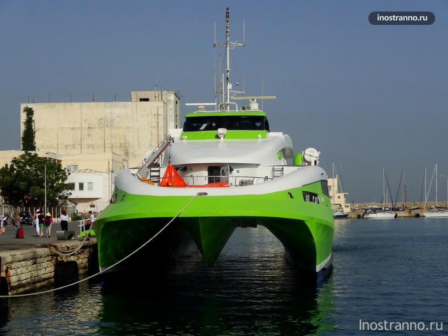 скоростной катамаран в Греции FlyingCat