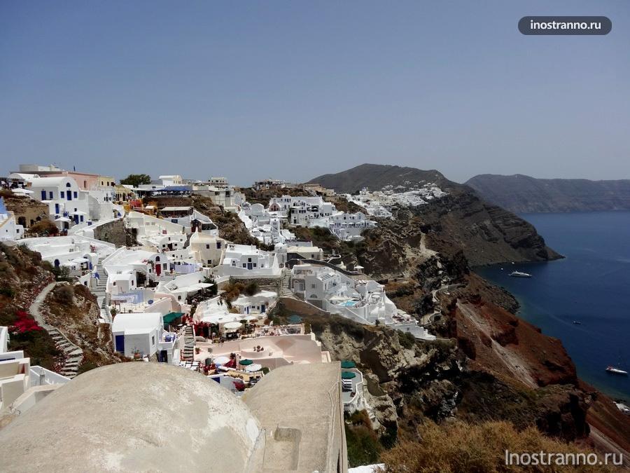 остров Санторини (Santorini) - Тира (Thira)