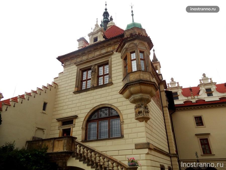 замок Průhonice