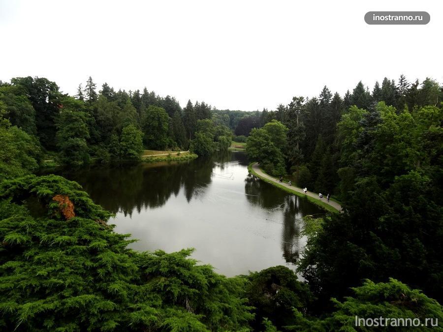 парк Průhonice
