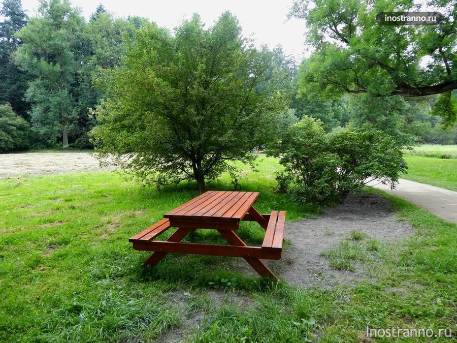 место для пикника