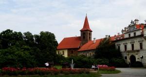 Замок Пругонице в Чехии (Průhonice)
