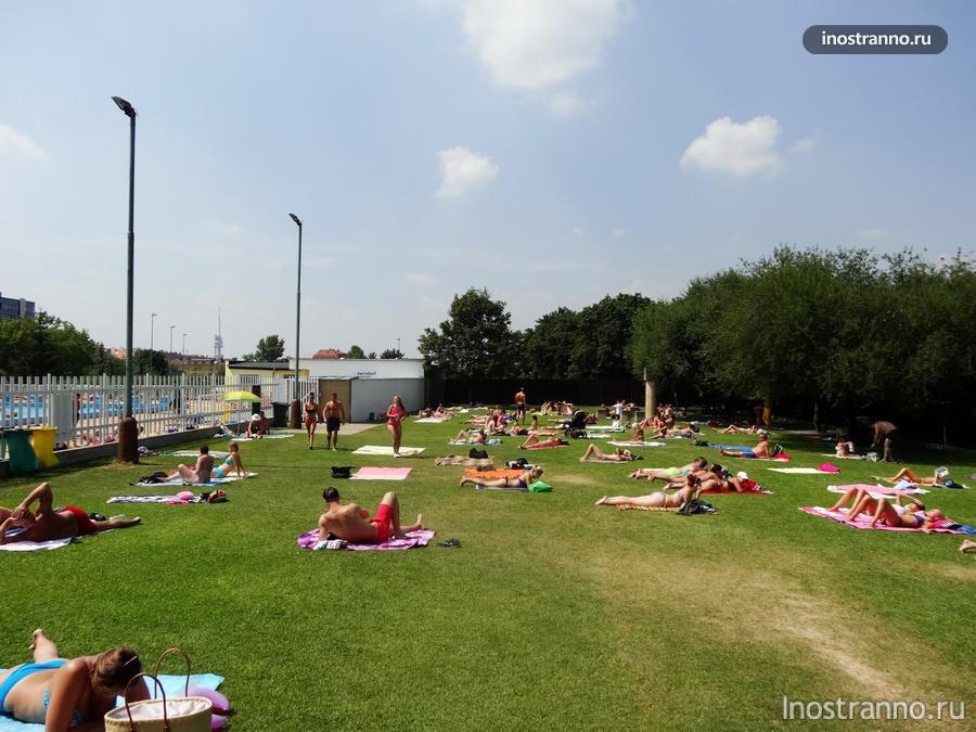 лето в Праге