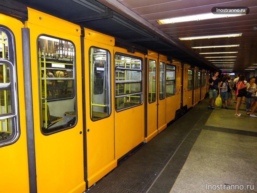первая линия метро в Будапеште