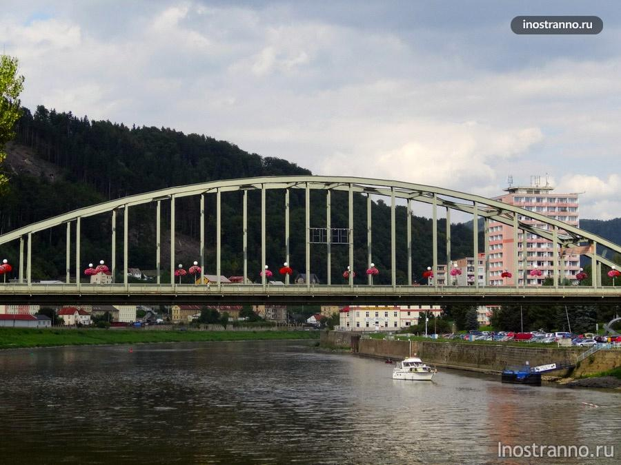 мост через лабе