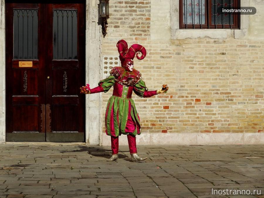 венецианский шут - клоун