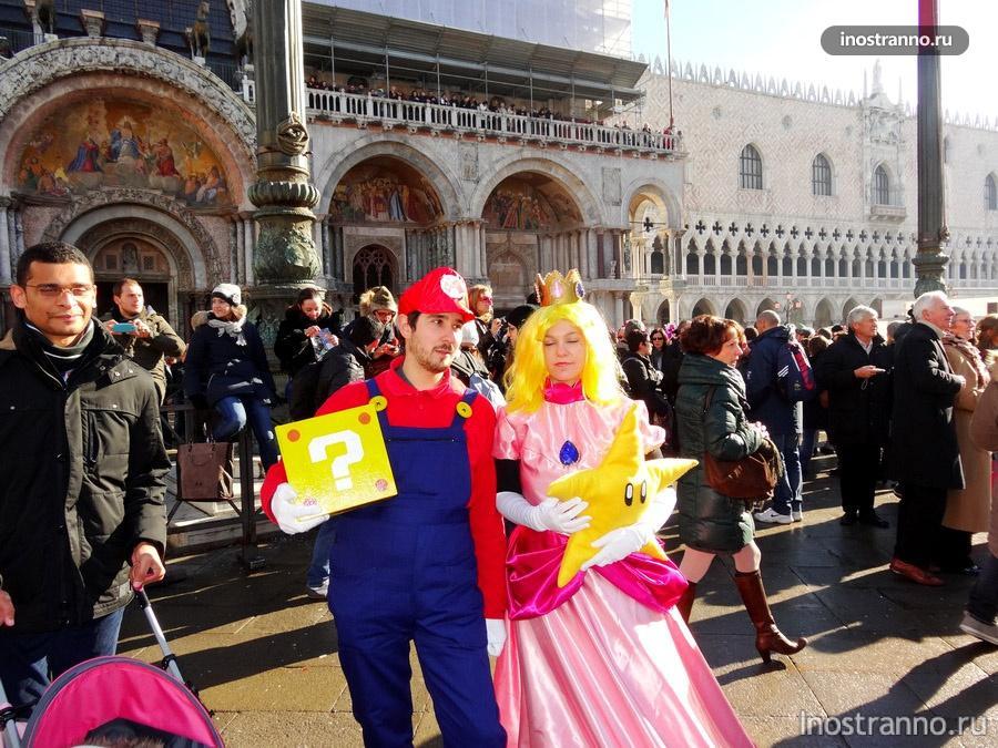костюм Супер Марио