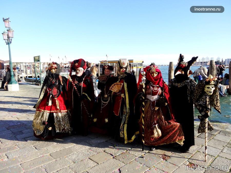 традиции венецианского карнавала