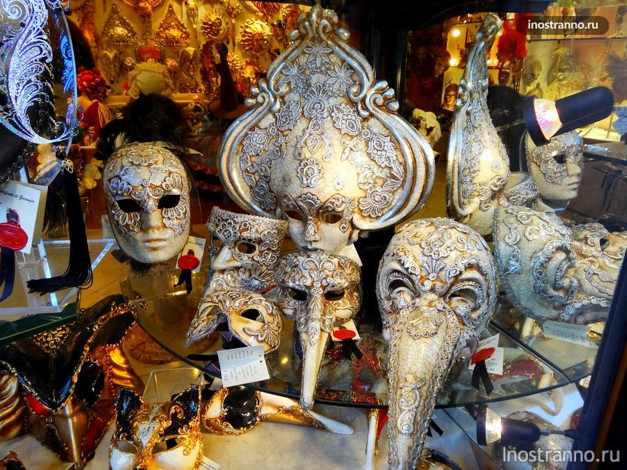 венецианская маска Доктор Чумы