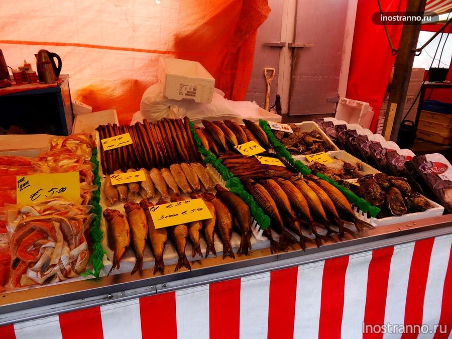 свежие морепродукты в Нидерландах