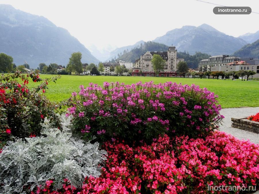 Интерлакен и Альпы