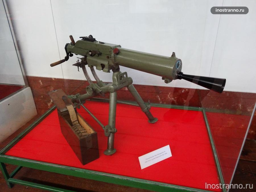 пулемет в зальцбурге