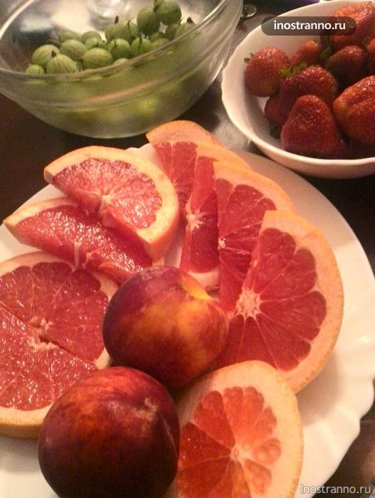 фрукты в чехии