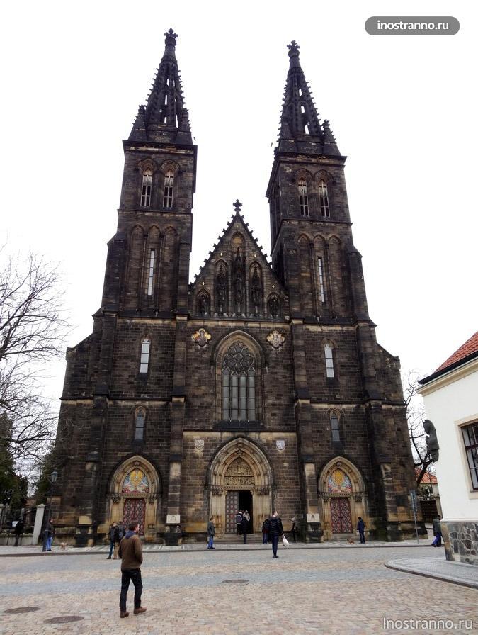 собор святого Петра и Павла на Вышеграде