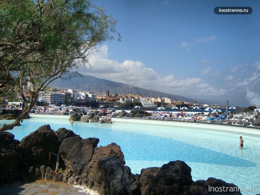 Пуэрто де ла Крус пляж