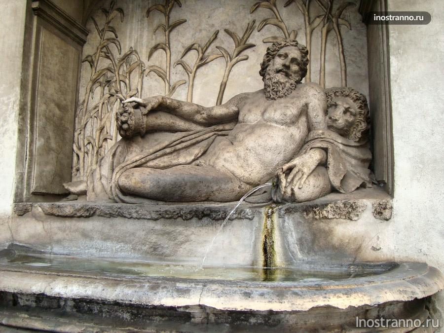 фонтан в риме
