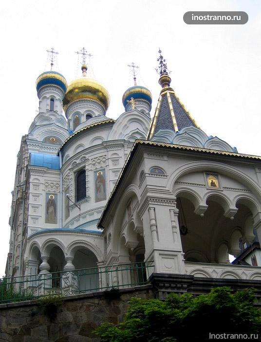 православная церковь карловы вары