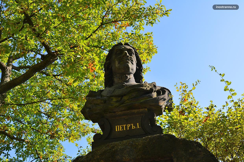 Скульптура Петр 1 в Карловых Варах