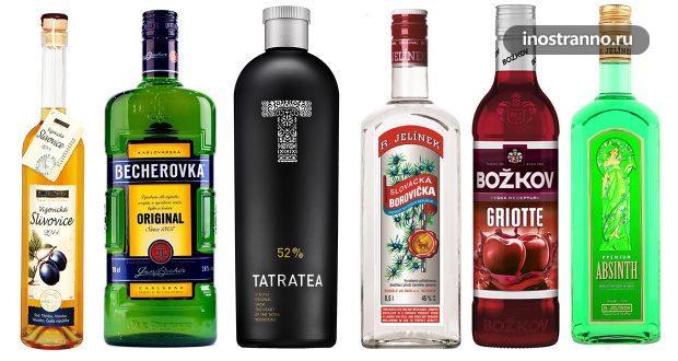 Бехеровка, Сливовица и другие чешские спиртные напитки