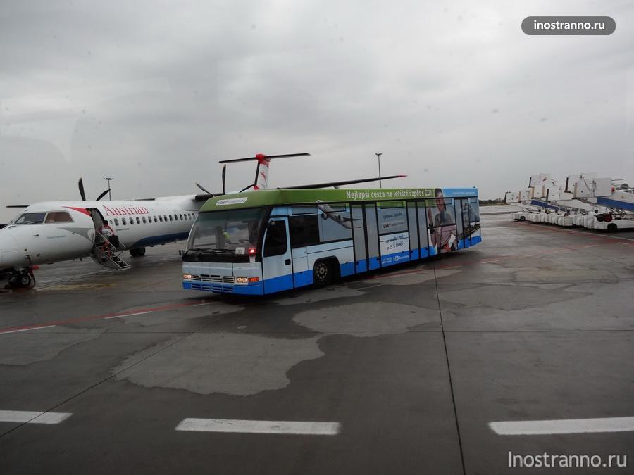 аэропортный автобус в Праге