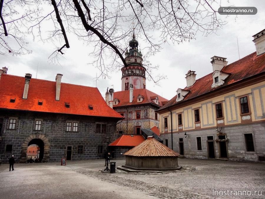 Замок Крумлова