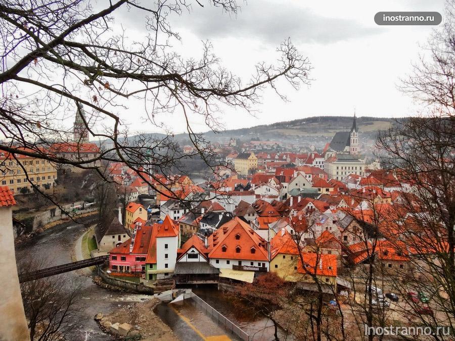 Чески-Крумлов в Чехии