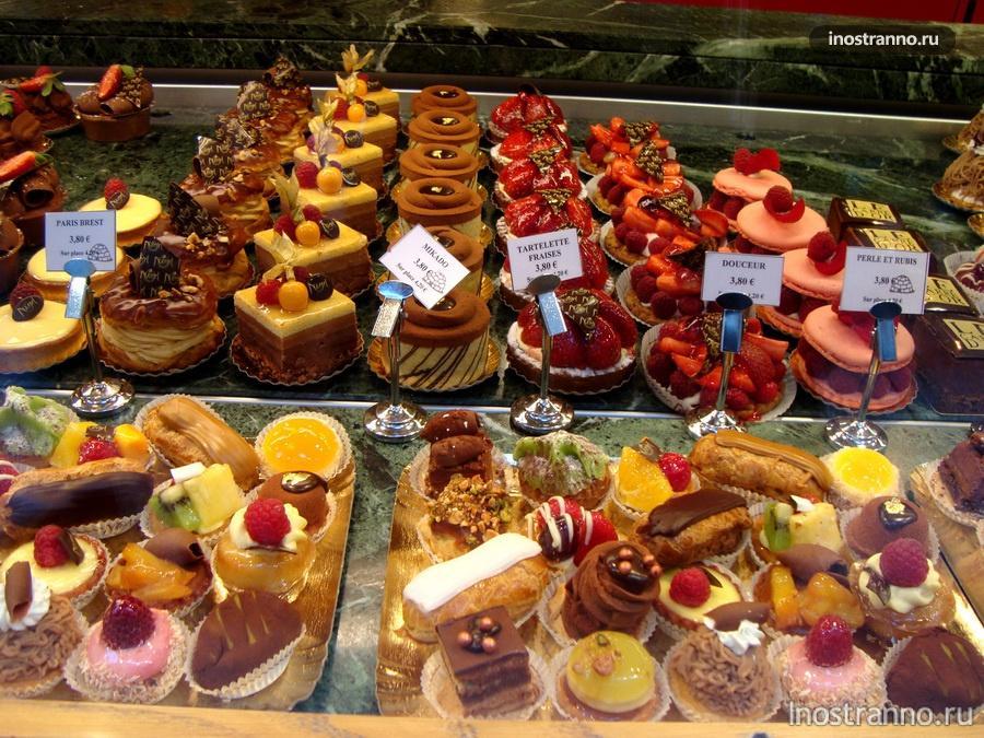 пирожные в страсбурге