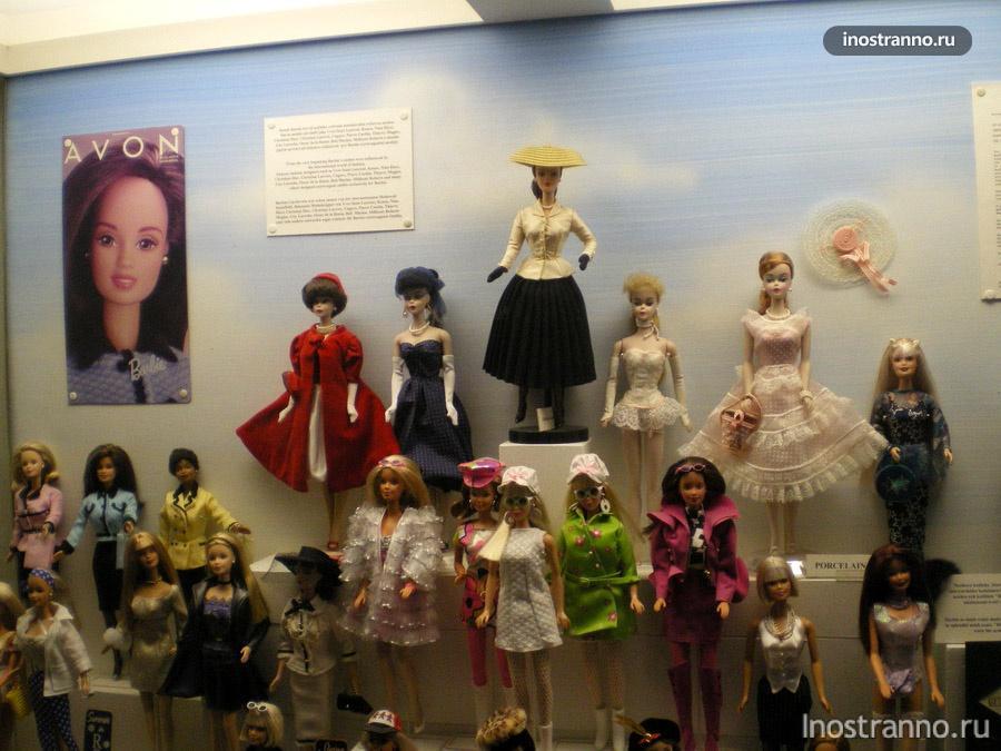 Выставка кукол Барби - Прага