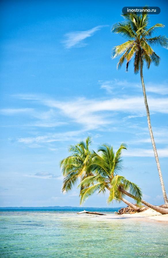 остров сан блас карибы