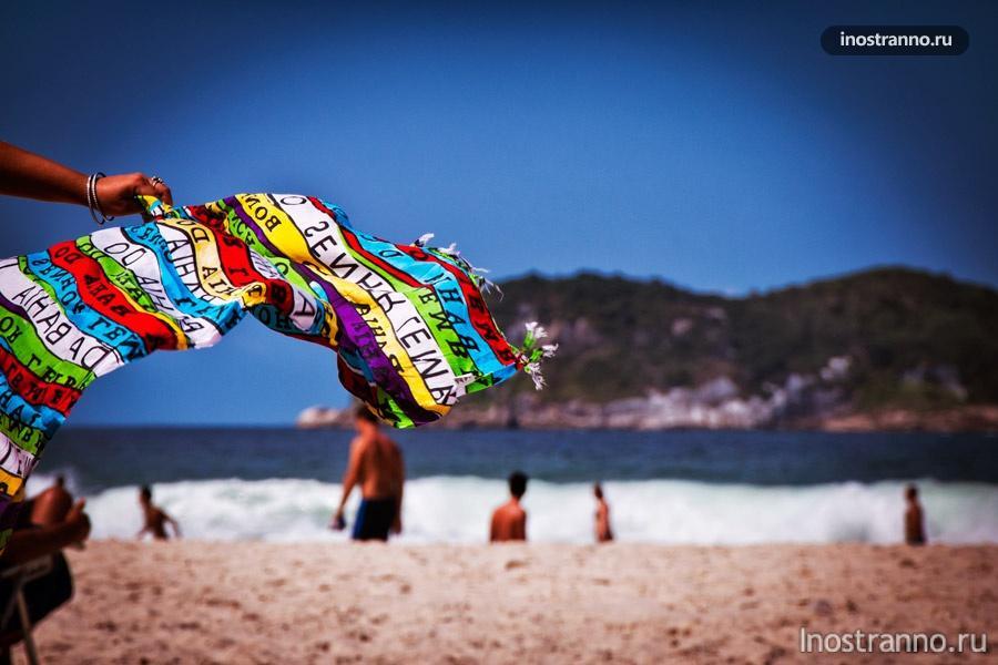 пляж рио-де-жанейро