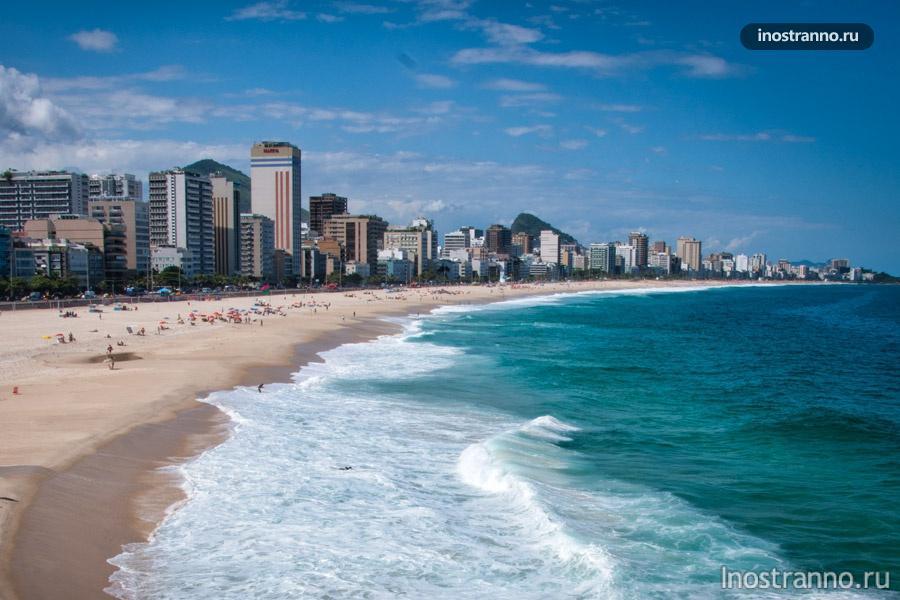 пляж леблон рио-де-жанейро