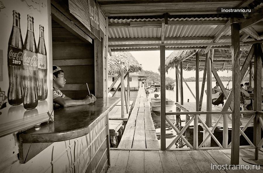 карибская деревня бокас-дель-торо панама