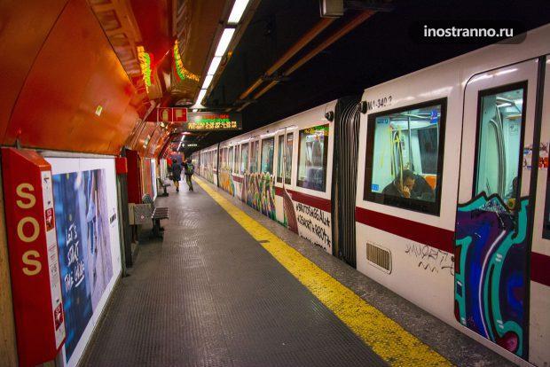 Станция метро Рима