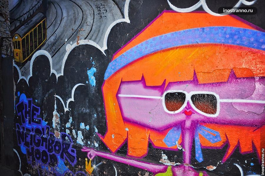 графити рио-де-жанейро