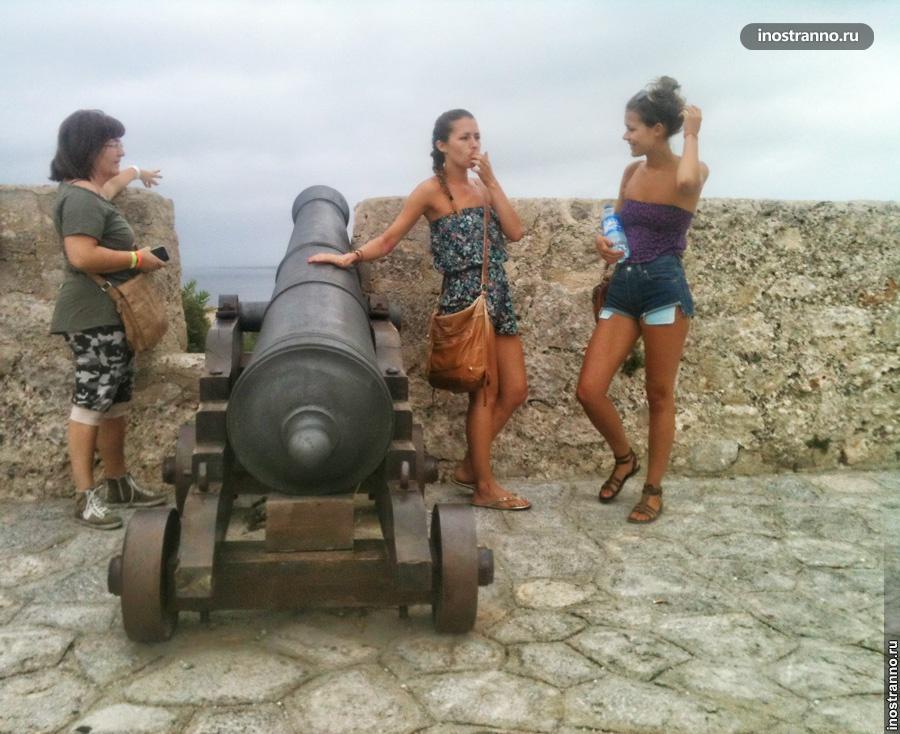 ибица старый город eivissa