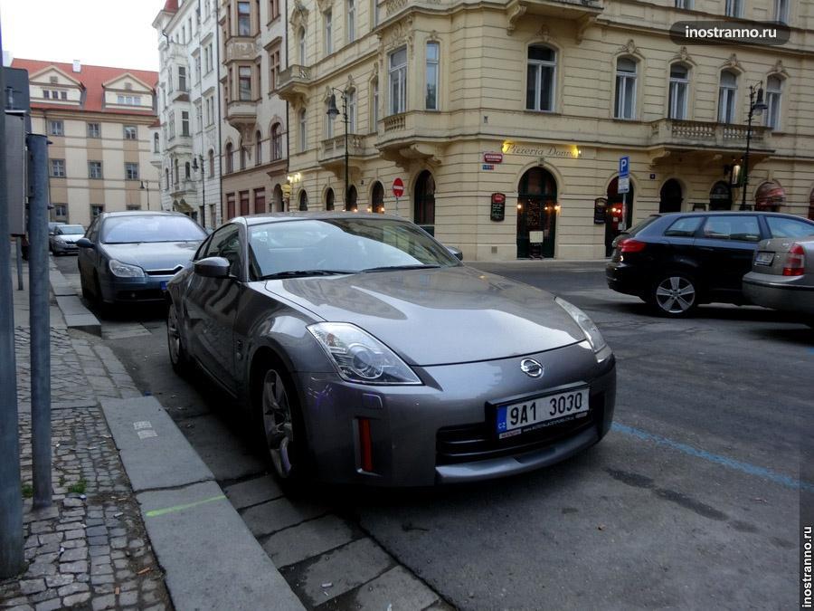 Nissan 350Z в Чехии