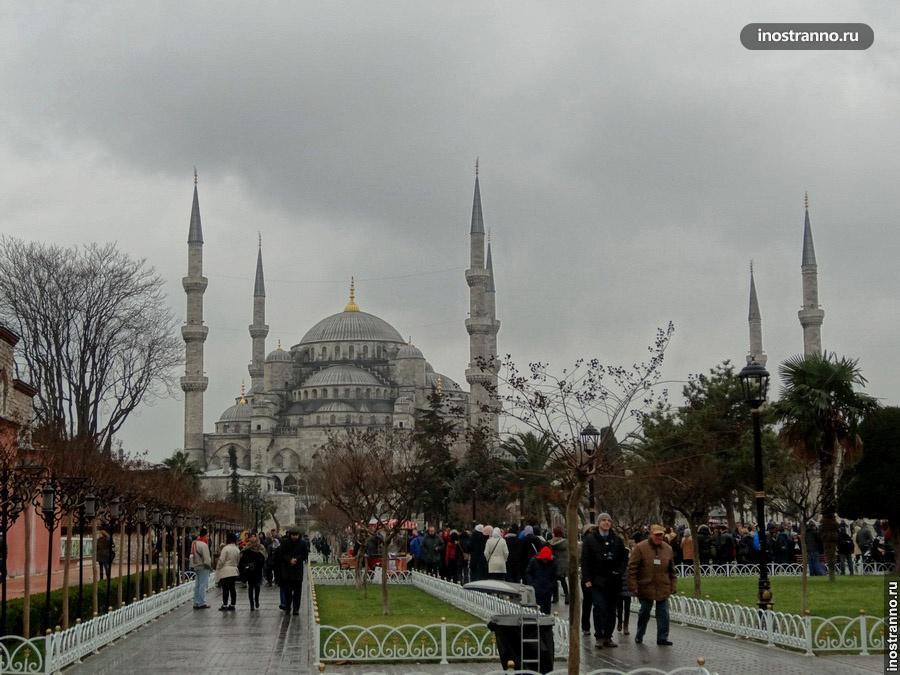 Голубая мечеть - мечеть Султанхамет