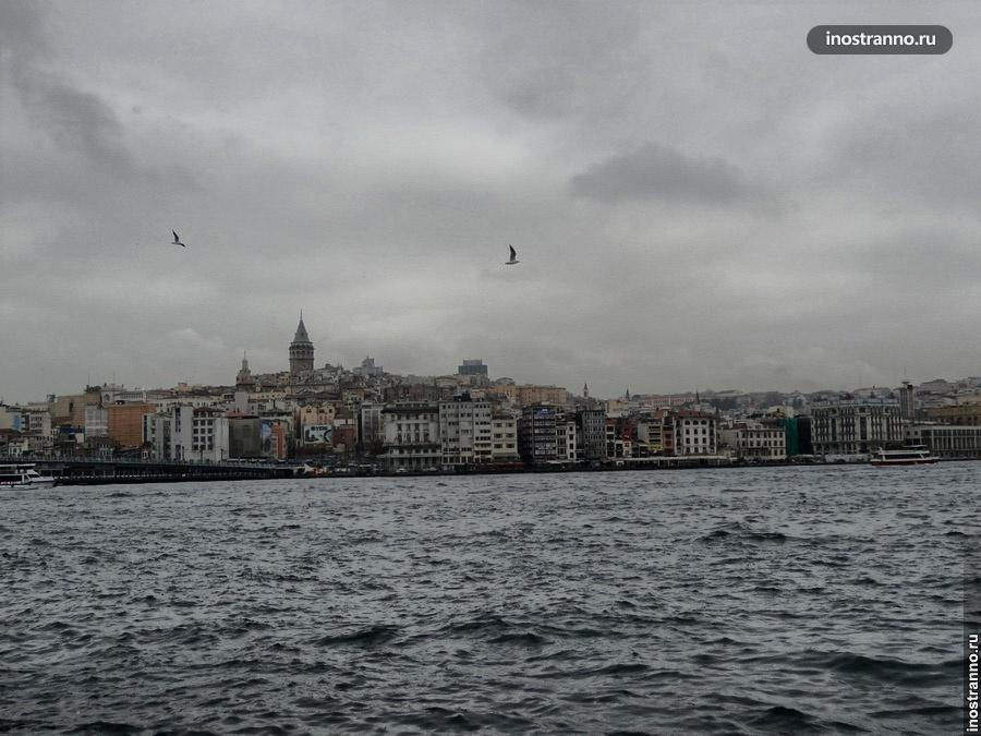 Европейская часть Стамбула