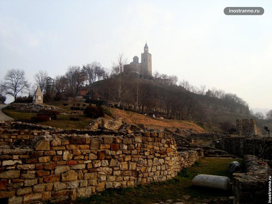 крепость царевец