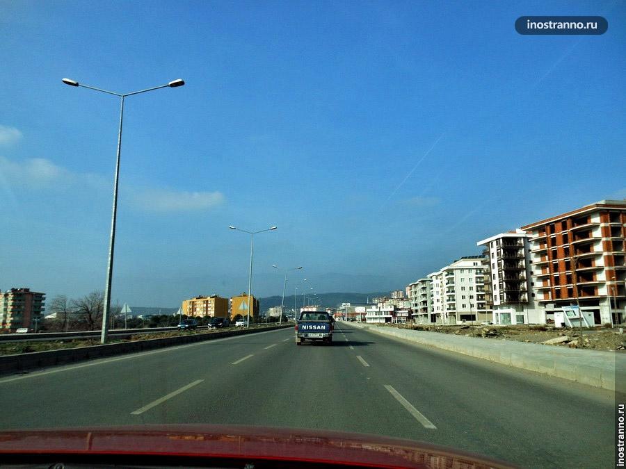 дороги в Турции