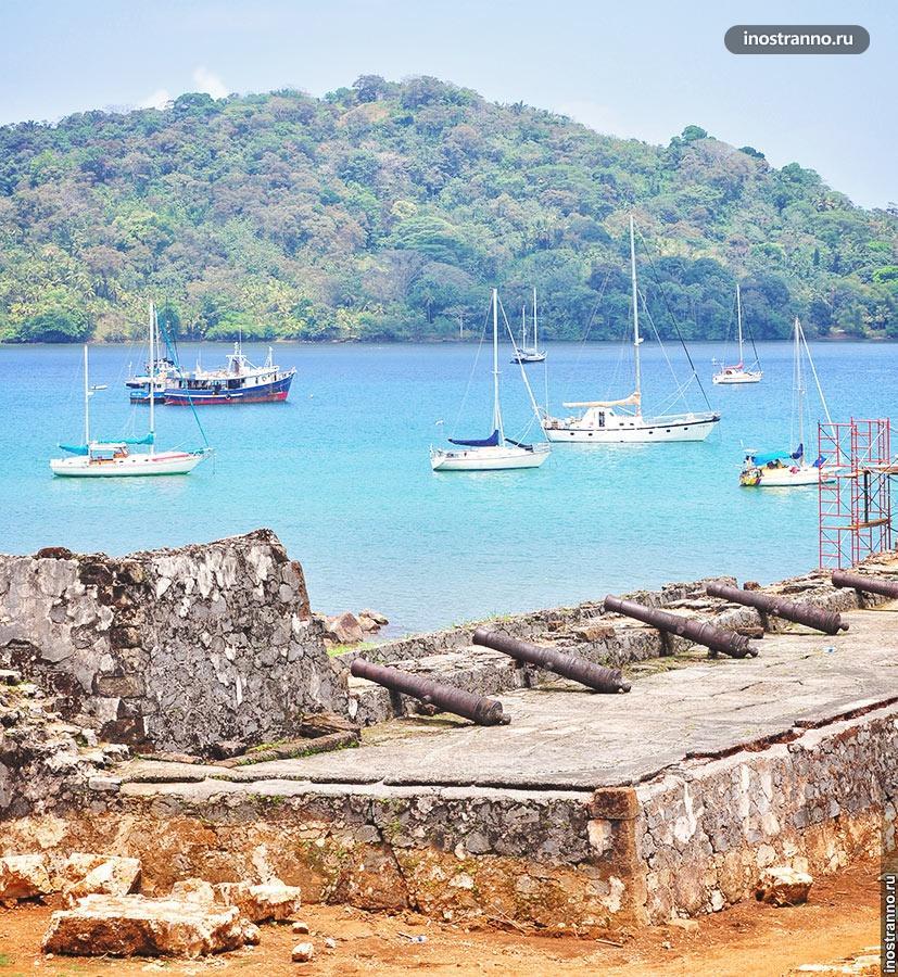 крепость портобело панама
