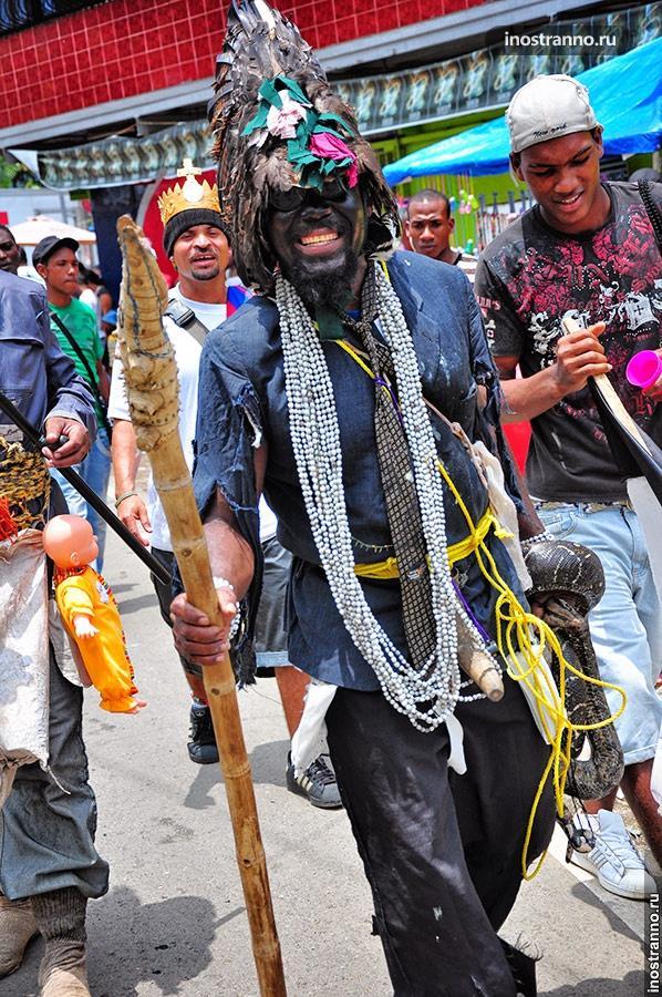 фестиваль дьяблос конгос портобело панама