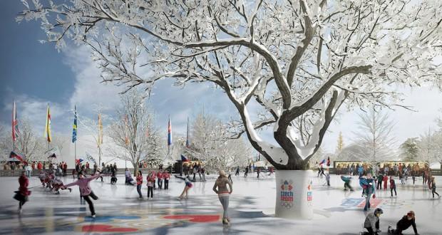 Олимпийский парк в Праге