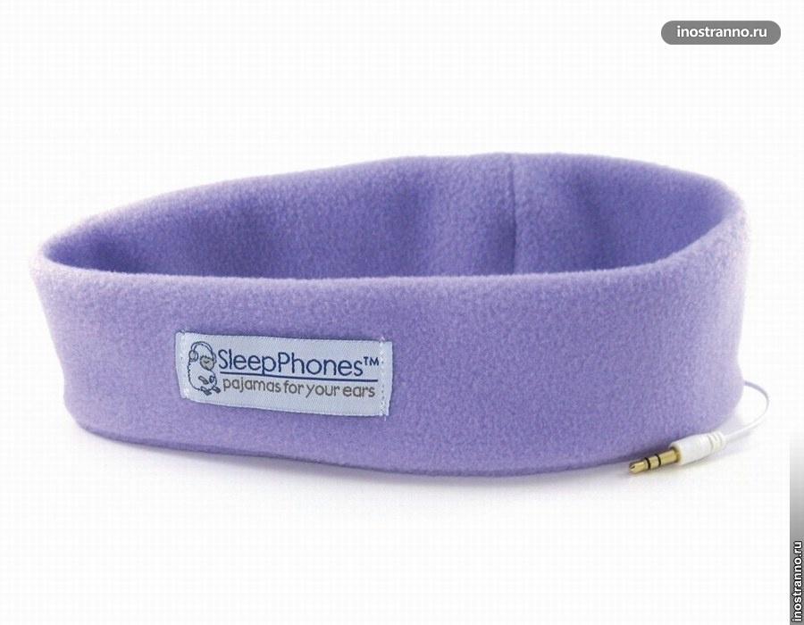 Мягкие наушники SleepPhones